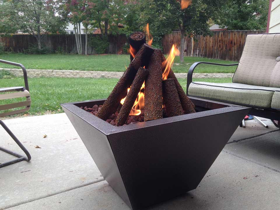 Portable Fire Pit DIY