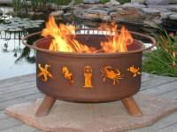 Steel Fire Pit Designs | Fire Pit Design Ideas