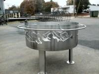 Steel Fire Pit Plans | Fire Pit Design Ideas