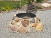 Stone Fire Pit Construction | Fire Pit Design Ideas