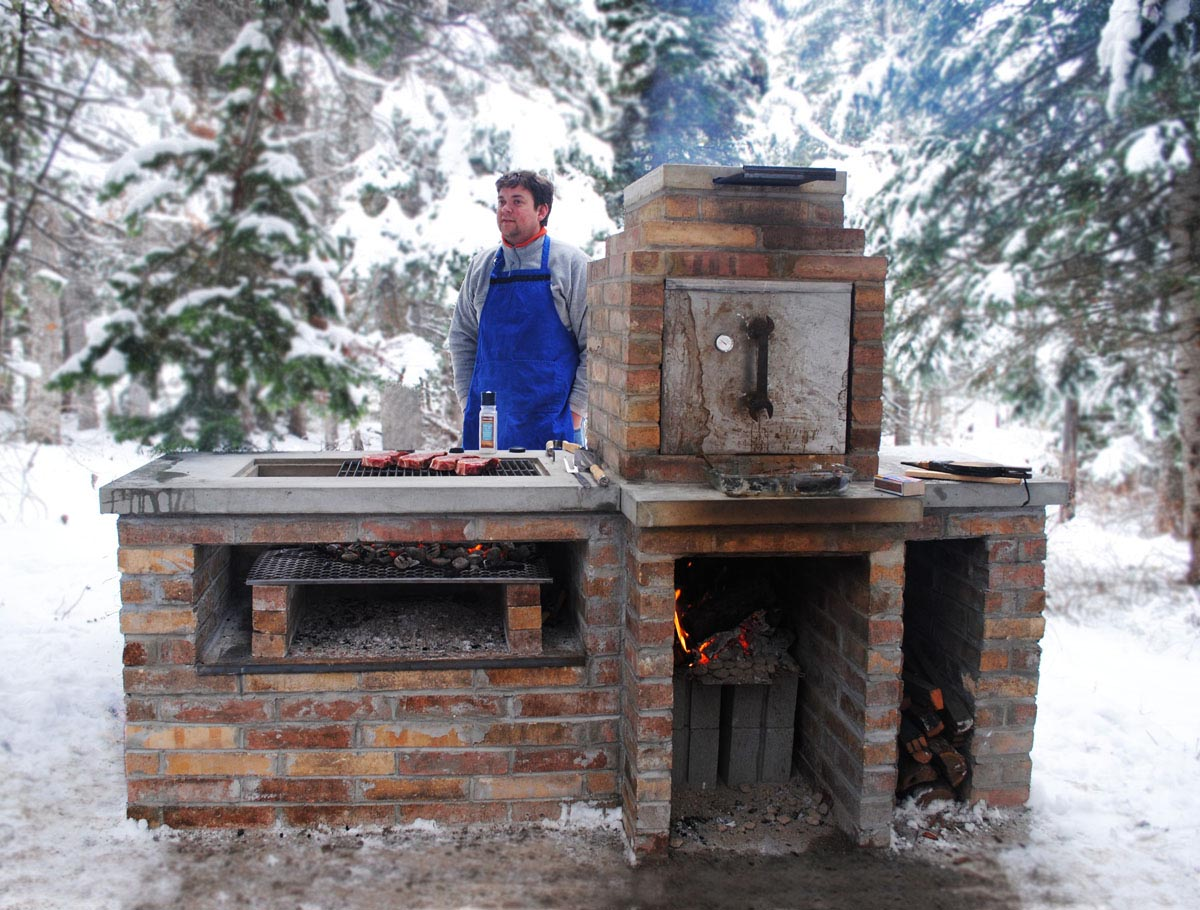 Create Brick BBQ Plans Before Building Barbeque or Grill