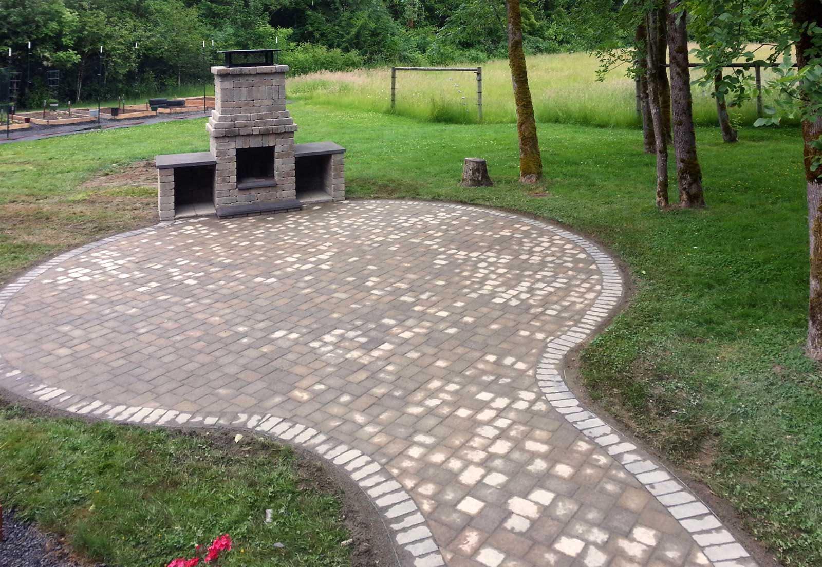 Brick Paver Fire Pit  Fire Pit Design Ideas