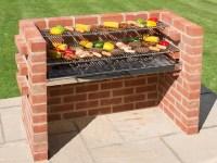 Build Your Own Brick BBQ Pit   Fire Pit Design Ideas