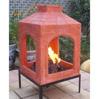 Ceramic Chiminea Fire Pit | Fire Pit Design Ideas