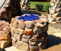 Ceramic Logs For Outdoor Fire Pit | Fire Pit Design Ideas