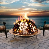 Ceramic Outdoor Fire Pit | Fire Pit Design Ideas