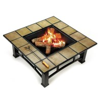 Ceramic Tile Fire Pit | Fire Pit Design Ideas