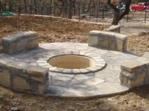 Cinder Block Fire Pit Plans Design Ideas
