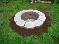 Concrete Block Fire Pit Plans | Fire Pit Design Ideas