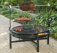 Cowboy Charcoal Grill And Fire Pit | Fire Pit Design Ideas