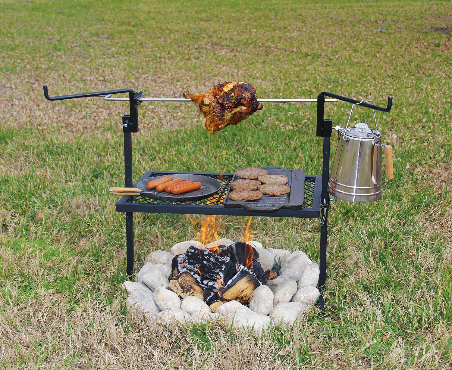 Cowboy Grill Open Fire Pit