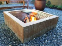 DIY Modern Fire Pit | Fire Pit Design Ideas