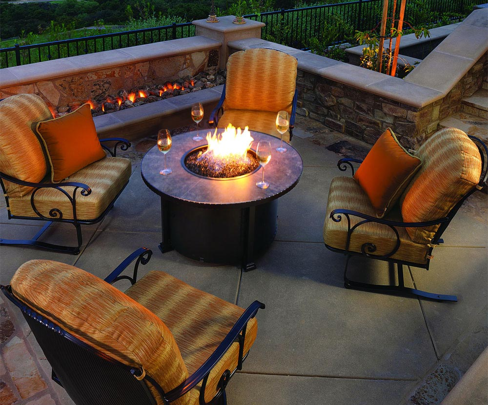 Fire Pit Ceramic Logs