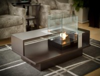 Fire Pit Coffee Table Indoor
