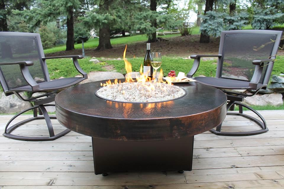 Fire Pit Dining Table And Chairs