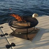 Fire Pit Pad For Wood Deck | Fire Pit Design Ideas