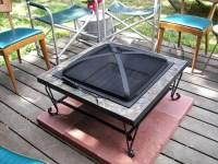 Fire Pit Pad Wood Deck | Fire Pit Design Ideas