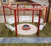 Fire Pit Swing Set   Fire Pit Design Ideas