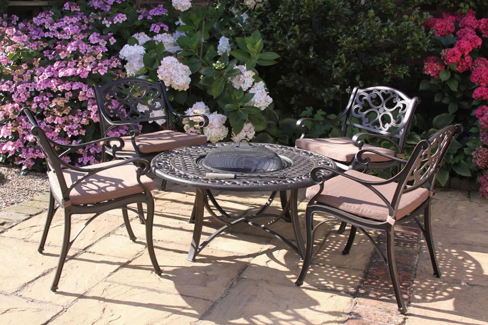 Fire Pit Table Chairs
