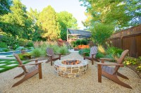 Fire Pit With Adirondack Chairs | Fire Pit Design Ideas