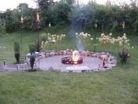 Homemade Backyard Fire Pit | Fire Pit Design Ideas