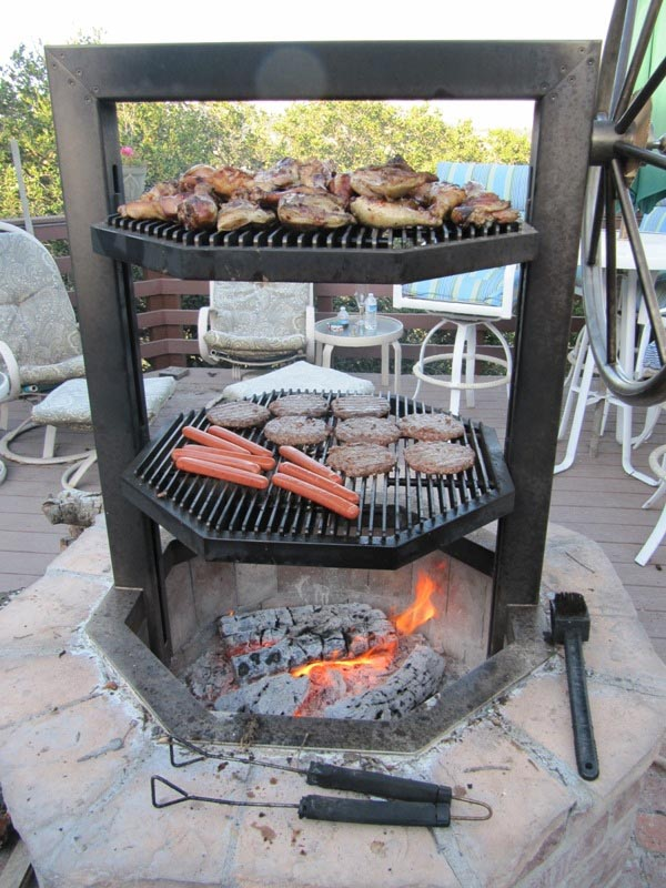 Homemade Brick BBQ Grill Plans  Fire Pit Design Ideas