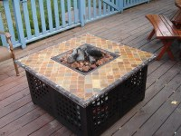 Homemade Fire Pit Table | Fire Pit Design Ideas