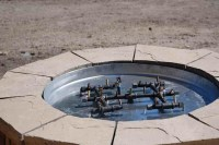Homemade Gas Fire Pit Burner