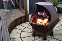 Metal Fire Pit Plans | Fire Pit Design Ideas