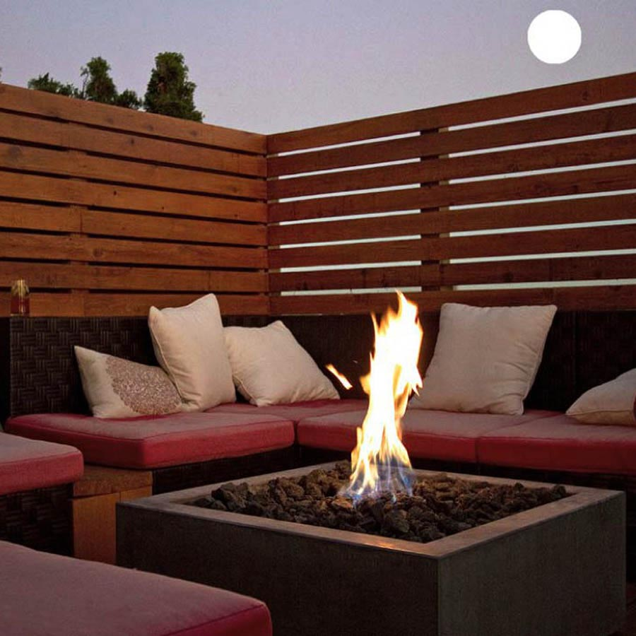 Modern Fire Pits Outdoor