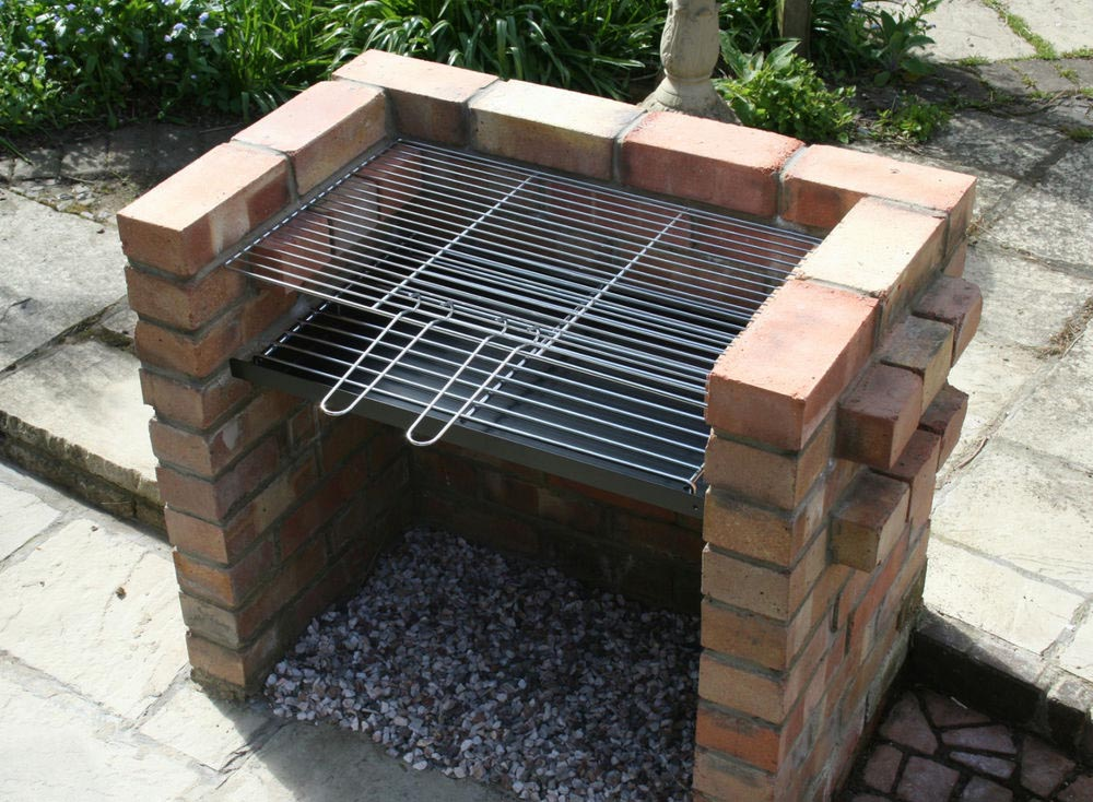 it is easy to make a brick bbq pit your own fire pit design ideas