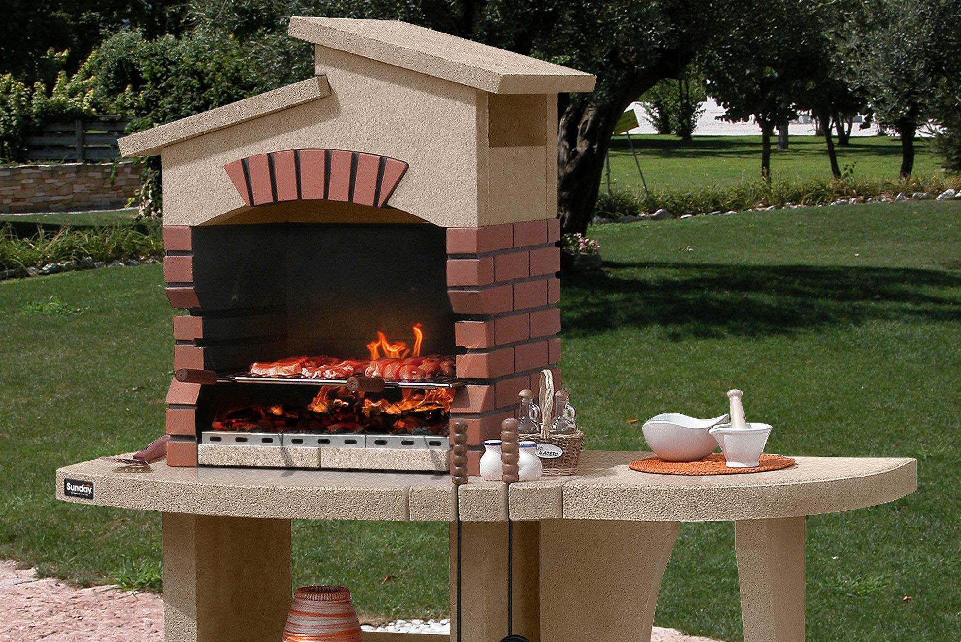 Red Brick BBQ Plans  Fire Pit Design Ideas
