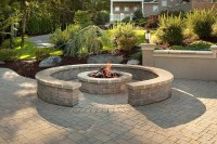Retaining Wall Block Fire Pit | Fire Pit Design Ideas