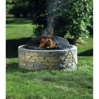 Stone Fire Pit Bunnings | Fire Pit Design Ideas