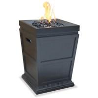 Uniflame LP Gas Ceramic Tile Fire Pit Table   Fire Pit ...