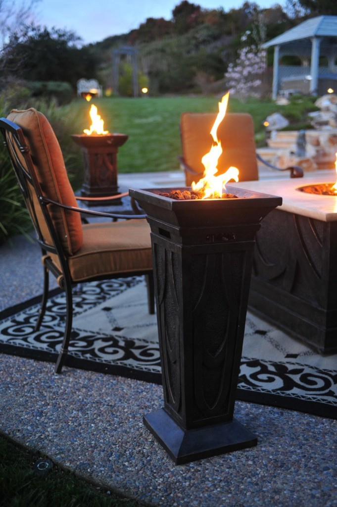 Bond Havana Fire Column  Best Fire Pits