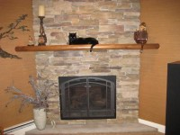 Simple Made and Attractive Air Stone Fireplace | Fireplace ...