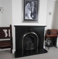 Black Granite Fireplace Surround | Fireplace Designs