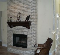 Brick Wall Fireplace Makeover | Fireplace Designs