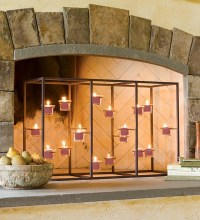 Candle Holders For Fireplace Mantel | Fireplace Designs