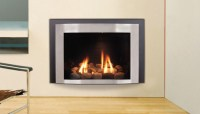 Contemporary Electric Fireplace Insert | Fireplace Designs