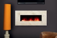 Contemporary Wall Mount Electric Fireplace | Fireplace Designs