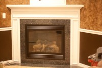 Corner Fireplace Mantel Kits   Fireplace Designs