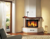 Corner Fireplace Mantels Wood | Fireplace Designs