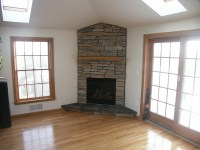 Corner Gas Fireplace Mantels | Fireplace Designs