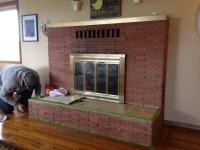 diy fireplace makeover ideas diy brick fireplace makeover ...
