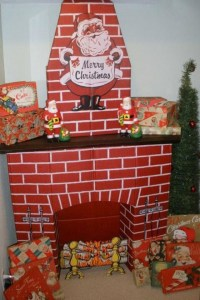 DIY Fake Fireplace For Christmas | Fireplace Designs