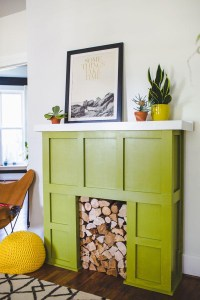 DIY Faux Fireplace Surround | Fireplace Designs