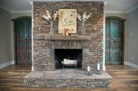 Dry Stack Stone Fireplace Ideas | Fireplace Designs