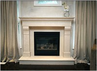 Electric Fireplace With Faux Stone | Fireplace Designs